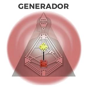 Los 4 tipos en Diseño Humano, el Generador
